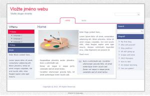 Free WordPress šablona – technická