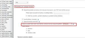 MYSQL chyba #1273